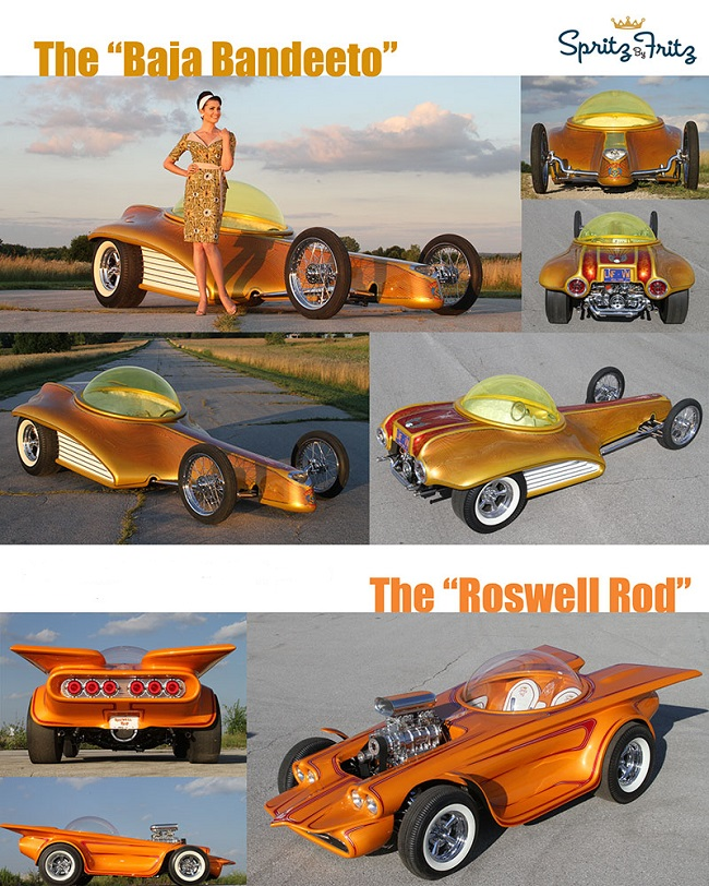 Build Fiberglass Body Baja Bandeeto Roswell Rod