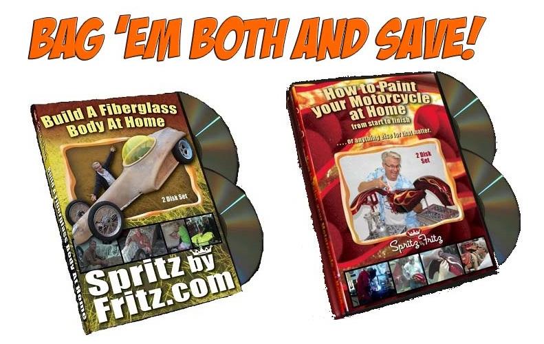 Spritz by Fritz DVDs