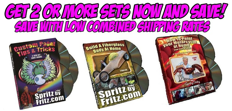 Spritz by Fritz DVDs